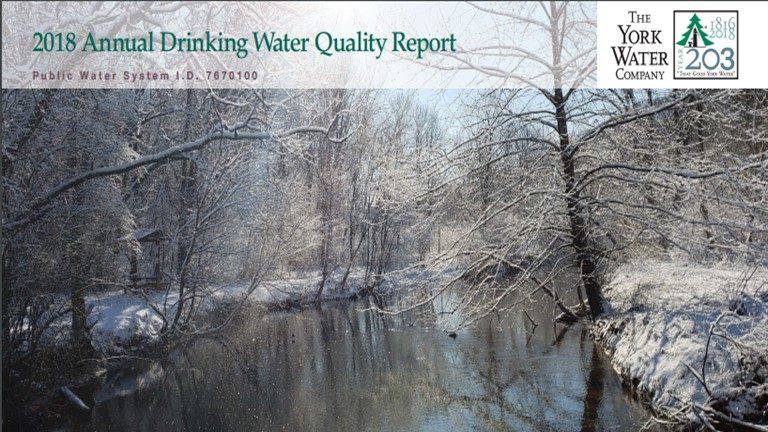 2018 Water Quality Banner