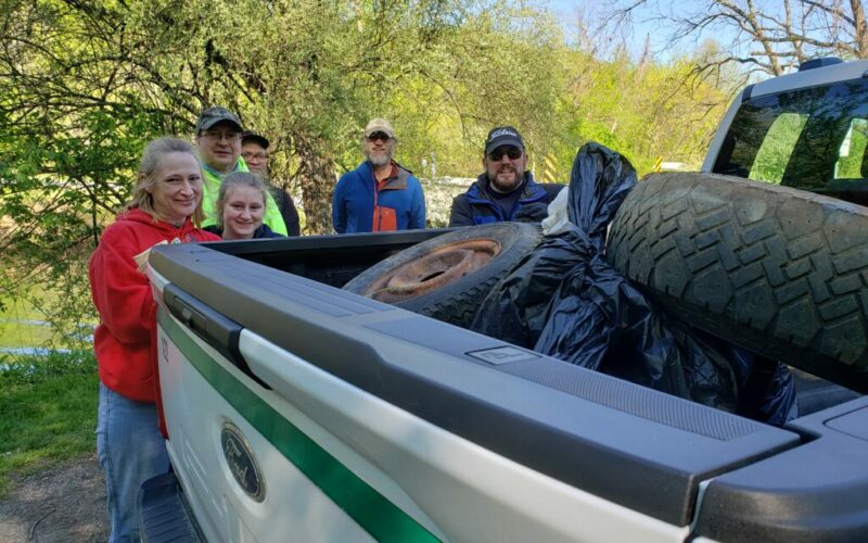 York Water organizes and participates in steam cleanups.