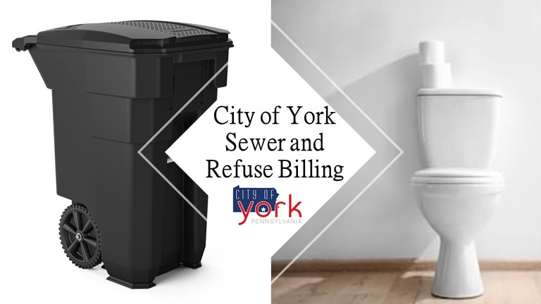 City of York Sewer and Refuse Banner
