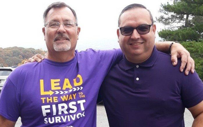 Jimmy and Julio Alzheimer's Walk