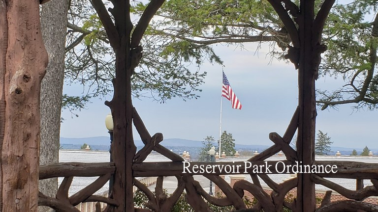 Reservoir Park Banner
