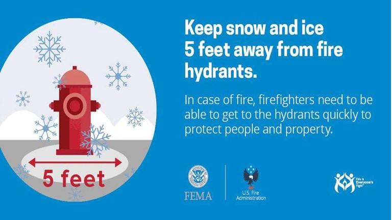 Snow Fire Hydrant