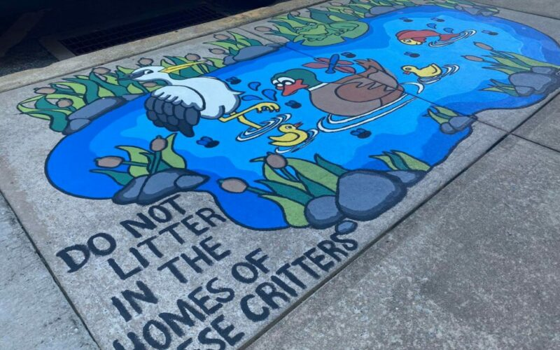 York Water is the sponsor of the Street 2 Creek Project.