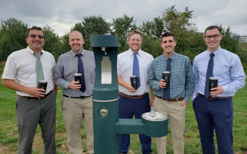 York Water sponsored the water fountain and bottle fill station at the UPMC York Campus.